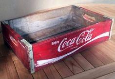 Coke Coca Cola Planting Tray Crate 38x32x13cm   eBay