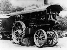 Steam Tractor, Road Transport, Steam Engine, Historical Photos, Locomotive, Tractors, Antique Cars, Automobile, Steamers