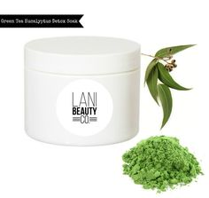 Green Tea Eucalyptus Detox Bath Soak  4 ounces by LaniBeautyCo