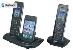 Cordless Phone with iPhone Dock