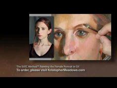 Promo Trailer of The SVEC Method™: Painting the Female Portrait in Oil - YouTube