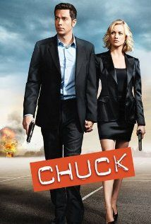 """Yesterday I was making 11 dollars an hour fixing computers and now there is one in my brain."" - Chuck Bartowski This is a tv show about an ordinary guy that becomes a spy. It's not the best show ever, has some silly characters, but Chuck and Sarah are really cute together."