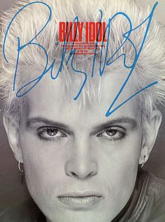 rare billy idol photos | Billy Idol, Billy Idol, UK, Deleted, book, Wise Publications ...