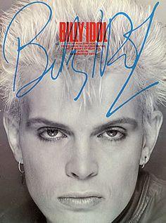 rare billy idol photos | Billy Idol, Billy Idol, UK, Deleted, book, Wise Publications ...