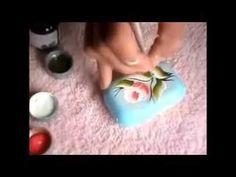 pintura em sabonete 1 - YouTube