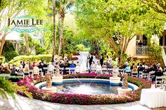 Garden Ceremony | Hyatt Regency Coconut Point | Jamie Lee Photography