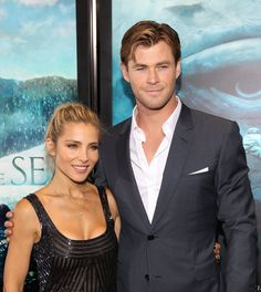 Pin for Later: Chris Hemsworth and Elsa Pataky Continue Their Reign as the Sexiest Red Carpet Couple