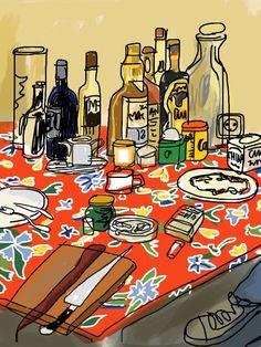 Mariscal: de cena