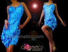 Charismatico Dancewear Store - CHARISMATICO Halter style blue sequin Latin dance dress with laser cut details , $145.00 (http://www.charismatico-dancewear.com/charismatico-halter-style-blue-sequin-latin-dance-dress-with-laser-cut-details/)