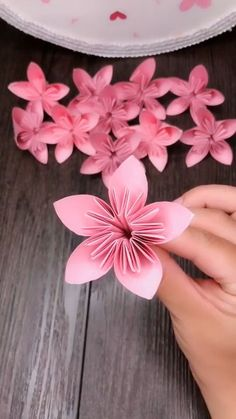Easy Paper Crafts for Kids and Adults Here we have tried to group our Paper Craft ideas by type! Origami for Kids Newspaper Crafts. Paper Flowers Craft, Paper Crafts Origami, Easy Paper Crafts, Flower Crafts, Diy Flowers, Diy Paper, Newspaper Crafts, Origami Flowers, Origami Art