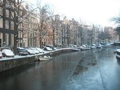 Driftwood and Daydreams, The canals of Amsterdam, Netherlands