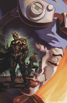 INJUSTICE_GODS_AMONG_US_YEAR_FIVE_5 Una grieta importante se desarrolla entre Batman y Catwoman mientras se cuestiona cómo su uso de los villanos de la Insurgencia lo hace mejor que Superman. Mientras tanto, Bizarro adquiere un montón de chicos malos, y Raven finalmente hace su regreso. Pero es ella la espalda para ayudar a Superman, o ella tiene otro programa
