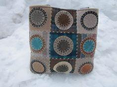 Wool penny rug totebag patchwork totebag by granniesraggedybags, $35.00