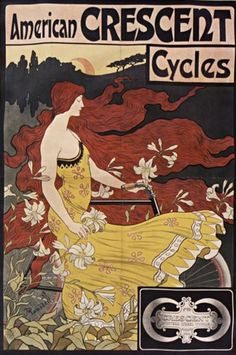 American Crescent cycles. Public Domain, French National Library