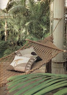 macrame hammock by elizabethcake, via Flickr