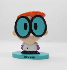 Dexter's Laboratory - Dexter - Bobble Head Toy Figure - Cake Topper (1)