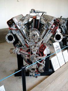 V12 Diesel engine at Parola