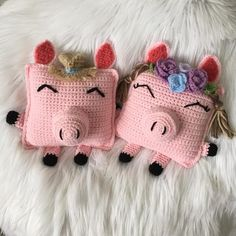 Spring Piggy Cuddler Pattern ***PDF PATTERN ONLY*** – Once Upon A Hook Crochet