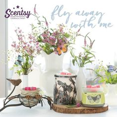 Fly Away with Me. Spring/ Summer 2016. msheather.scentsy.us or email me Holli.gilbert87@yahoo.com #scentsy #wickless