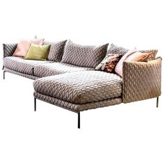 Moroso Gentry Sofa by Patricia Urquiola Available in Quick Ship