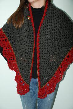 Holiday Crochet Shawl