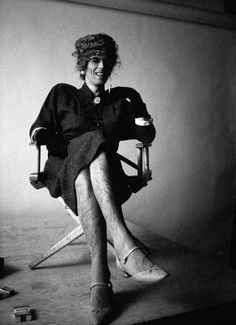 Keith Richards in Drag (Legs) Picture By Jerrold Schatzberg