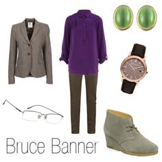 """""""Bruce Banner"""" by ja-vy on Polyvore"""