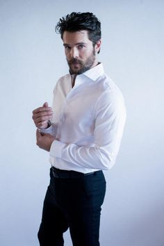 """36-year-old Charlie Weber snagged the role of Frank Delfino on the ABC hit series, """"How to Get Away with Murder."""" The TV show is one of the season's most successful with more than 10 million viewers. (Courtesy of Ben Miller.)"""