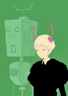 Kotaro Chiba  #Japan #Art #Manga #illustration