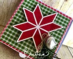 Christmas Quilt suite, mini pizza box
