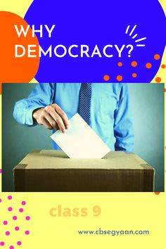 Why Democracy is Important for Us Do you know why democracy is important for us, if you don't know then CLICK on image to get more information... #Why_Democracy_is_Important_for_Us #What_is_Democracy_Why_Democracy_Class_9_Notes #why_democracy_is_important_in_india #civics_class_9_chapter_2_pdf Political Equality, Political Party, Military Coup, Military Officer, Constitution Of Pakistan, What Is Democracy, School Forms