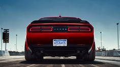 The Dodge Demon's massive drag tires are just barely street legal - Autoblog