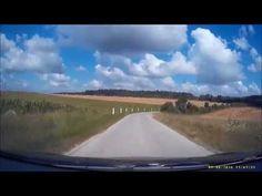Routes et paysages de Verdun ... Dashcam