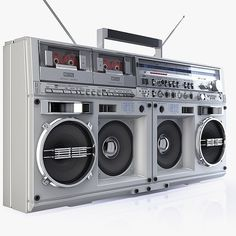 Someone MUST be producing a Bluetooth module for old boom boxes...surely...and if not, why not! I would love running one of these remotely, off my phone. You could even set the EQ to to lose the treble and mix in some 'tape hiss'! The massive Sharp GF-777....K