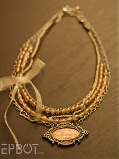 Love this Smashed Penny Necklace...getting lots of ideas on how to use mine!