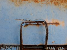 Blue Dumpster by Drew Makepeace,