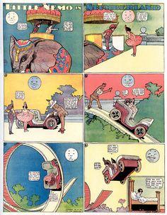 A digital library of classic comic strips, featuring Winsor McCay's Little Nemo and George Herriman's Krazy Kat Little Nemo In Slumberland, Old Comic Books, Cincinnati Art, Sci Fi Novels, Old Comics, Classic Comics, Animation Film, Public Art, Vintage Children