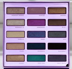 Urban Decay 15 Year Anniversary Eyeshadow Collection: The Shadows