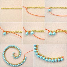DIY: Double Woven Pearl Necklace | Megan Jewelry Making