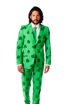 799bc69706 Patrick's Day Irish Shamrock Party Suit (a.a The Celtic Gentleman) by  Opposuits - Shinesty