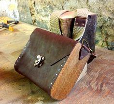 Oak & Leather Sachel / Bag, February 2015