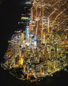 States In America, United States, Color Out Of Space, Manhattan Nyc, Vintage New York, Night Time, New York City, City Photo, Skyline