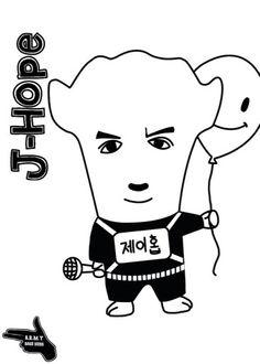 J-Hope Hiphop monster