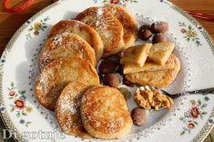 Di gotuje: Bananowo-orzechowe placuszki z kaszy manny (bez cu...