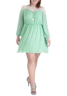 Rosemary to the Occasion Dress in Plus Size | Mod Retro Vintage Dresses | ModCloth.com