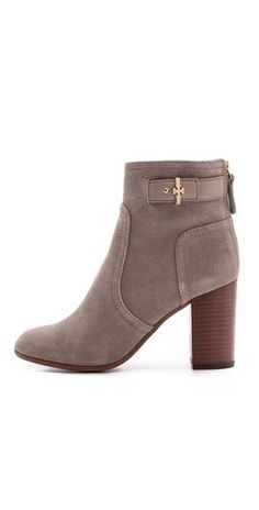 Tory Burch Kendall Suede Booties | SHOPBOP