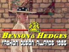 Nita Henry designs and fashion parade 1986 Benson and Hedges awards Benson & Hedges, Tv Presenters, Big Fashion, Award Winner, Design Awards, Fashion Designers, Awesome, Check, Top