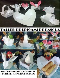 Taller de origami en pascuas