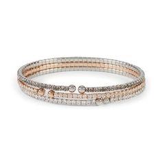 Skinny Micro Pave Coil Bracelet – Lola Accessory Boutique