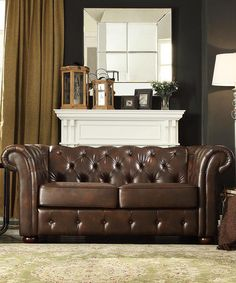 Cool possessions on pinterest david yurman monogram for Bellagio button tufted leather brown chaise